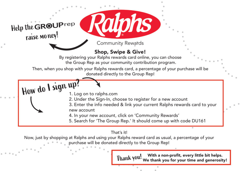 Ralphs - The Group Rep