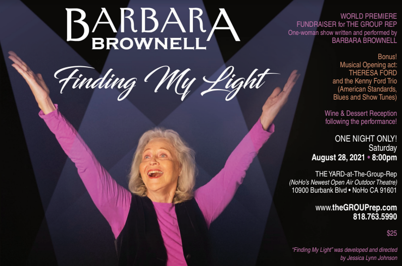 Barbara Brownell Finding My Light Donations