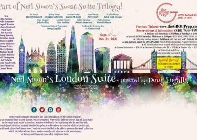 Neil Simon's London Suite Postcard